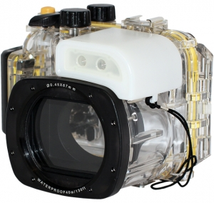 Underwater box for Canon G15