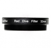 32 mm red filter for underwater box