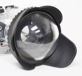 67mm wide-angle wet port for Meikon underwater covers