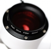 Camdive 32 mm red light filter for underwater photography for Samsung