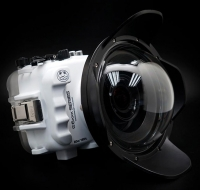 Sony A6xxx underwater dome cover with spherical dome