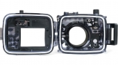Sony Cyber-shot DSC RX100 (I-V) with a camera under the water