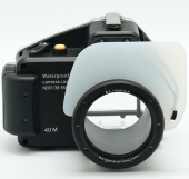 Aquapox for shooting underwater on Sony NEX-5 (18-55mm)