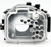 Cover for Panasonic LX100 for underwater shooting