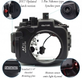 key features of the underwater cover Sony A7R II-A7S II