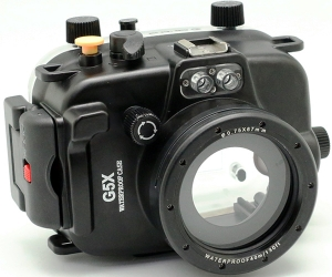 underwater case on Canon G5X