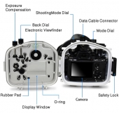 waterproof case for Sony A7 III / A7R III Dry dome port